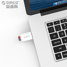 ORICO Mini Card Reader Mobile Phone Tablet PC USB 3.0 5Gbps for Micro SD TF Flash Memory Card White(China)