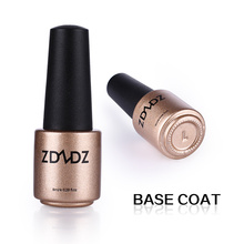 ZDZDZ 8ml Soak Off Base Coat Foundation for UV Gel Polish Long Lasting Nail Gel Lacquer Z01(China)