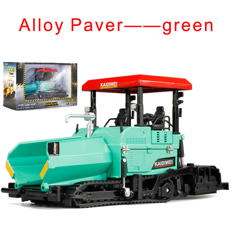 KAIDIWEI 1:40 Scale Car Paver Model Diecast Metal Construction Vehicles Truck Toys For Kids Boys(China (Mainland))