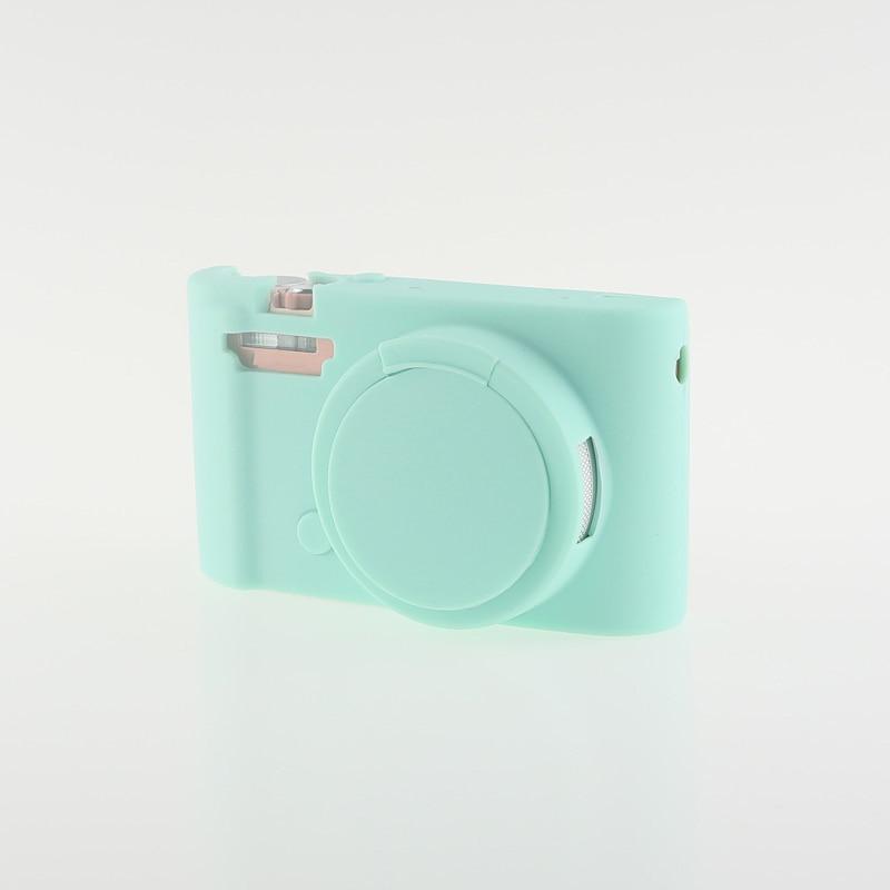 Soft Silicone Rubber Camera Bag Protective Body Case for Casio ZR5000 5500 5300-3