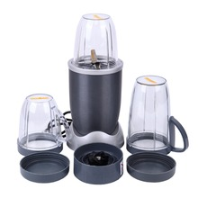 Ship from USA) Portable Blender Food Processor Mixer Juicer Smoothie Ice Crush Maker 600W(China)