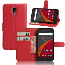 GFC for General Mobile GM 5 GM5 with holder New PU leather protective phone cases Cover 9Colors