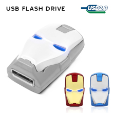 USB Flash Drive 32GB 16GB 8GB  Stainless Steel USB 2.0 Flash Memory Stick Pen Drive  pendrive The Marvel's memory stick u disk
