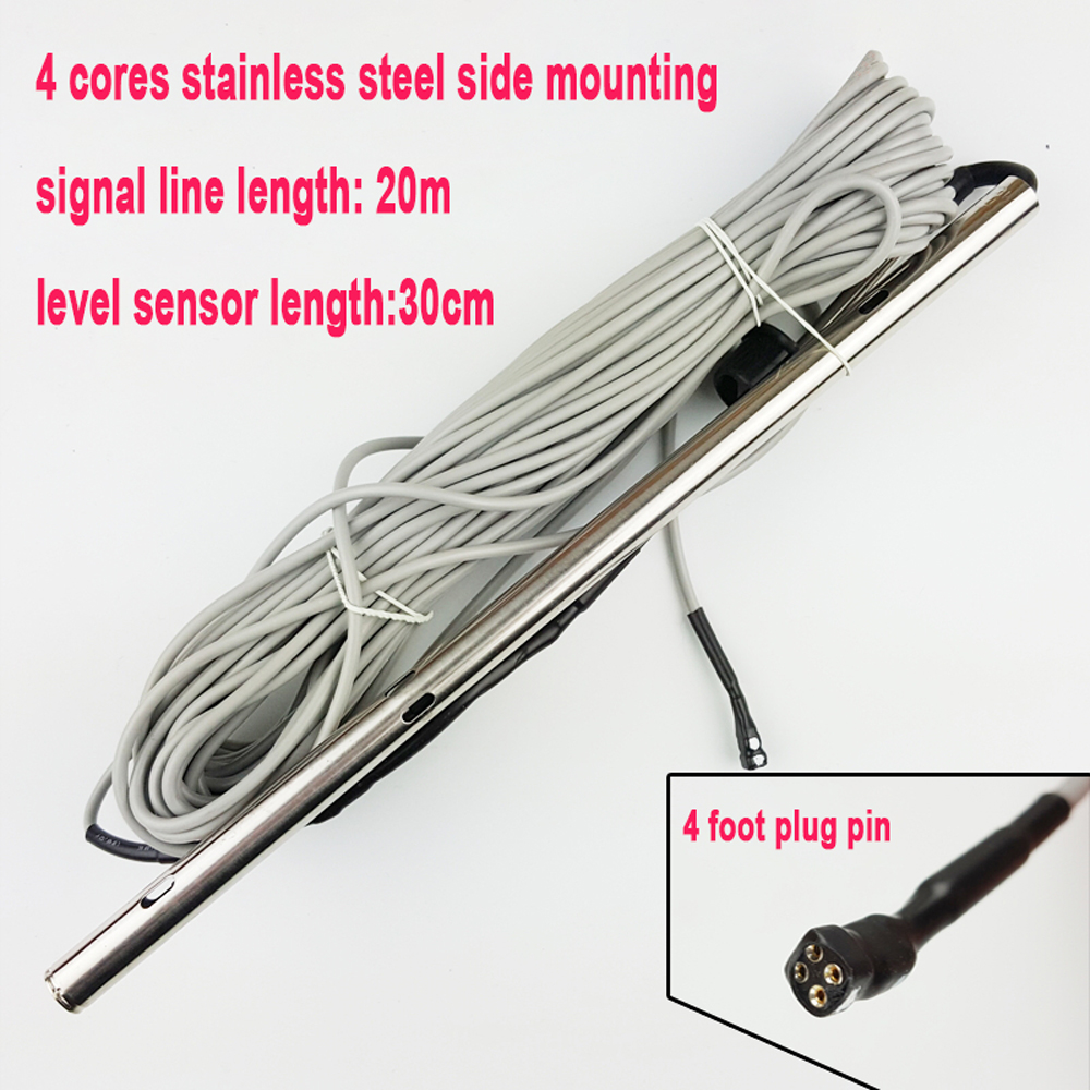 4 cores stainless steel side mounting solar energy water heater temperature water level sensor CGQ-18