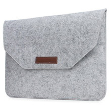 "Wool Felt Ultra Slim Light Weight Sleeve Case for Macbook Air Pro Retina 11 13 15 for Lenovo Acer Dell HP 15.6"" Laptop Bag Case"