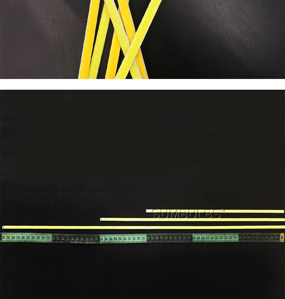 dc 12v 10w 20w 60cm 40cm 30cm 20cm cob led strip car light (10)