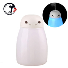 Anion USB Humidifier Mist Maker with LED Light Mini Humidifiers Aroma Diffuser Air Conditioning Atomizer Fogger Home Appliances(China)