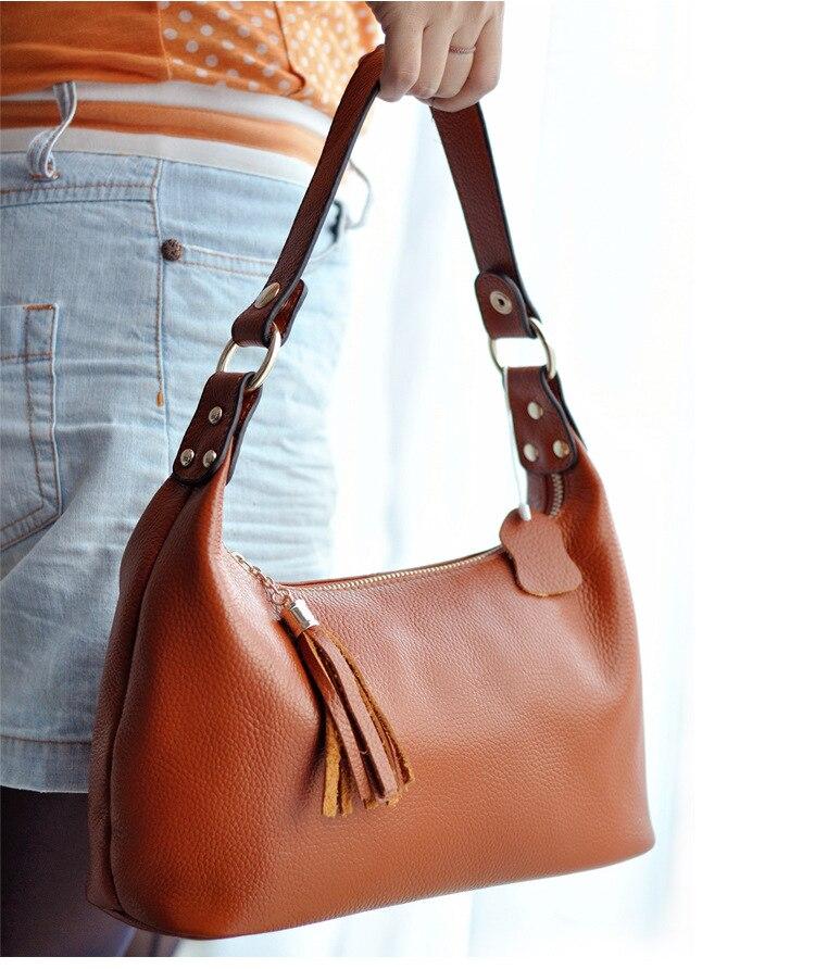 Women Messenger Bags Women Handbag Bolsas Dumpling Cow Leather Shoulder Bag Crossbody Bags Female Bag Mom Package Multipurpose<br>