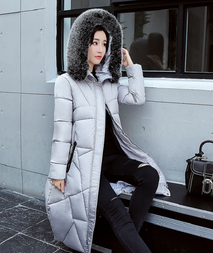 2017 Winter Women Coat Thicken Warm Long Jacket women coat girls long slim big coat jacket Down Parka+29 (2)