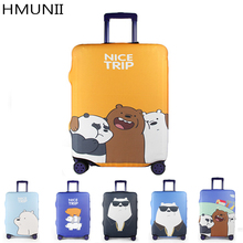 Luggage Cover Personality Brand Suitcase Protection Covers High Elastic Thickening Trolley Case Dust Cover For 20/24/28/30 Inch