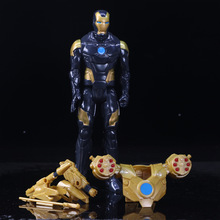 Marvel The Avengers Super Heroes Stark Iron Man PVC Action Figure Collectible Model Anime Figure Toys Doll 30CM