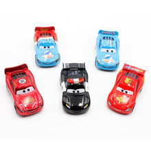 Disney Pixar Cars 5pcs/Lot Police Dinoco Piston Cup Mcqueen 1:55 Diecast Metal Alloy Toys Birthday Christmas Gift For Kids Toys