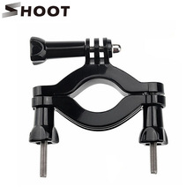 Buy SHOOT Go Pro Motorcycle Bicycle Seatpost Handlebar Clamp Holder Mount GoPro Hero 5 4 3 Session SJCAM SJ4000 Xiaomi Yi 4K h9 for $4.25 in AliExpress store