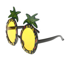 New Hot Sale Hawaiian Beach Sunglasses Pineapple Goggles Hen Night Stag Party Fancy Dress Party Event Supplies Free Shipping(China)