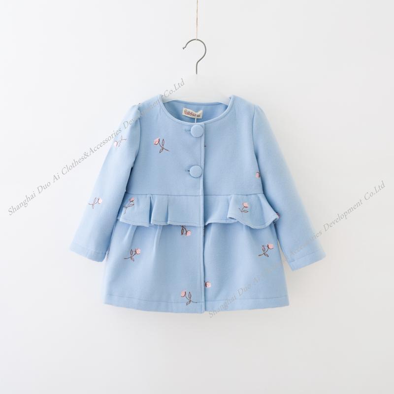 New arrival Winter/Fall Children Girl Coat Girls woolen Coat Girls Thick Coat 4-9Y<br><br>Aliexpress