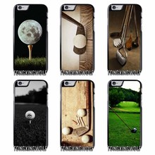 Play Golf ball Cover Case for IPhone 4 4s 5 5s 5c se 6 6s 7 8 X plus Rubber TPU Silicon soft(China)