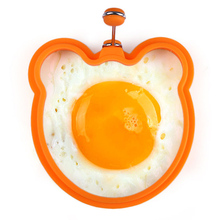 Hot Selling Silicone Omelette Pancake Poach Mould Ring Fried Egg Shaper Cooking Kitchen Tool FM1134