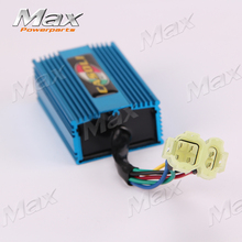 GY6 Racing DC 6pin 4+2 Pins CDI Fit to125cc 150cc 200cc Motorcyle Scooter ATV Quad Go Kart Buggy Direct Current
