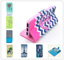 PU Leather Flip Case for iphone 4 4S 4G Phone Bag for iPhone4 with card holder Stand Design Wallet Cases Soft TPU Cover