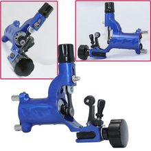 New Arrival Blue Dragonfly Rotary Tattoo Machine For Shader and Liner Assorted Tattoo Motor Gun Kits Supply Free Shipping(China)