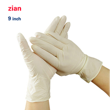 Disposable latex Clean 9 inch Clean the dishes housework waterproof gloves stab resistant medical laboratory food operation