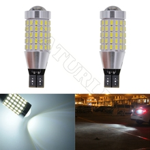 Buy 2pcs T15 W16W Led 3014 87SMD CANBUS Error Side Marker Width Parking Bulb Position Clearance Light Auto Accessories for $6.83 in AliExpress store