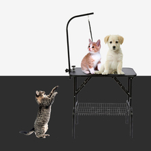 Stainless Steel Dog Grooming Table Folding Pet Grooming Table Professional Beauty Shop Grooming Desk For Small Animal(Hong Kong,China)