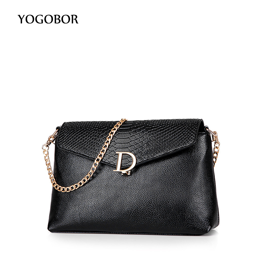 2017 Small Simple Snakeskin Leather Messenger Bags Famous Brand Women Crossbody Shoulder Bag For Ladies 4 Colors<br><br>Aliexpress
