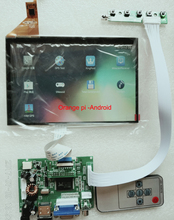 7 inch lcd 1280*800 16:10 IPS KITS Support Win7 Win8 Win10 Raspberry Pi, USB Touch Android Linux For CARPC DIY Industrial Contro