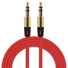 3.5mm Auxiliary Cable Audio Cable Male To Male Flat Aux Cables May31(China)