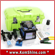 DHL Free Shipping Optical Fiber Fusion Splicer KOMSHINE GX36  FTTH Fiber Optic Splicing Welding Machine