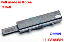 11.1V 85WH Original New Battery G555N for DELL Inspiron 1525 1526 1545 1546 1440 1740 1750 Vostro 500 K450N C601H GW240 GP952
