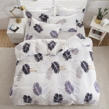 Birthday Present Bedding Set Microfiber Fabric Sheet, Pillowcase & Duvet Cover Sets Twin Full Queen King Sizes(China)