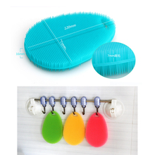 5pcs Multifunction Silicone Dish Bowl Cleaning Waterdrop Sponge Brush Antibacterial Cleaning Pad Kitchen Accessories 73X120X16cm