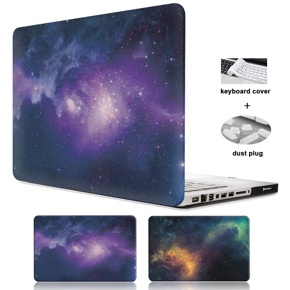 Star Laptop Case For Apple MacBook Air 11 13 inch Case For APPLE MAC Pro with Retina 12 13.3 15 Cover Starry Sky Shell Case<br><br>Aliexpress