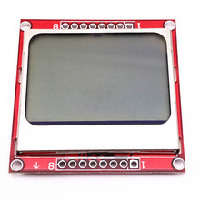 Nokia 5110   LCD Module Display Monito r White backlight adapter PCB