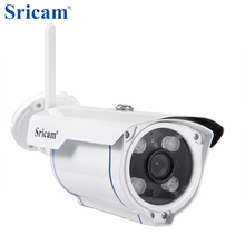 Sricam 720P HD IP Camera WIFI Onvif 2.4 P2P for Smartphone Waterproof Vandalproof Support 128G SD TF Card 15m IR Outdoor IP Cam