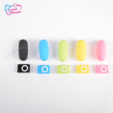 Sweet Dream 20 Speed Wireless Remote Control Vibrating Egg MP3 Type Adult Bullet Sex Toys for Woman Female Sex Products DW-005