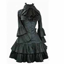 Preppy classic womens dress gothic long sleeve lolita costumes halloween for women fantasias cosplay dresses girl sweet dresses
