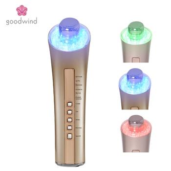 Goodwind CM-5-2 6 EN 1 máquina máquina de cuidado de la piel Facial Fotón Rejuvenecimiento Cuidado Facial Anti-envejecimiento de la Vibración del Dispositivo de SPA