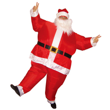 Carnival Father Christmas Disfraces Adultos Anime Cosplay Inflatable Santa Claus Costume Halloween Costume Fantasias Disfraces