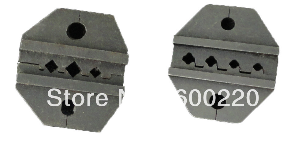 MC3 die set (2.5-6mm2) / Tyco die set 1.5-6mm2, replaceable crimping dies for crimping solar photovoltaic MC3 or tyco connectors<br><br>Aliexpress