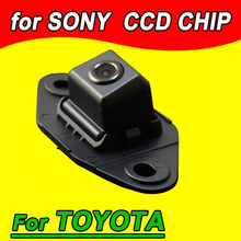 CCD car rear view parking camera for Toyota Series Kamera waterproof for GPS DVBT radio free shipping NTSC PAL( Optional)(China)