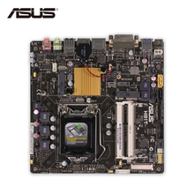 Original Used Asus H81T Desktop Motherboard H81 Socket LGA 1150 i7 i5 i3 DDR3 16G SATA3 UBS3.0 Thin Mini-ITX 100% Fully Test