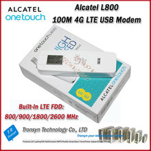Cheapest Brand New Original Unlock LTE FDD 100Mbps Alcatel L800 4G LTE USB Modem And 4G LTE Dongle