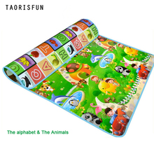 1.5m*1.8m Alphabet Animals Baby Play Mats Crawling Pad Kids Game Carpet Toys For Children Developing Rug Mat for Children Rug