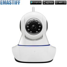 Security Network wifi 720P CCTV camera Wireless Megapixel HD Digital Security ip camera IR Infrared Night Vision local alarm