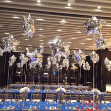 Buy balloon star foil balloons birthday decoration baloon blue silver gold wedding party birthday baloons birthday star balloon for $1.46 in AliExpress store