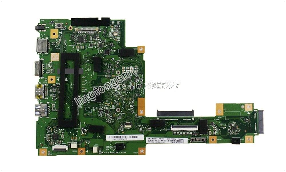 Интернет магазин товары для всей семьи HTB1JwjthyMnBKNjSZFoq6zOSFXaO X553MA материнской N3530 N3540 для ASUS A553M D553M F553M K553M X503M Материнская плата ноутбука X553MA плата X553MA материнская плата