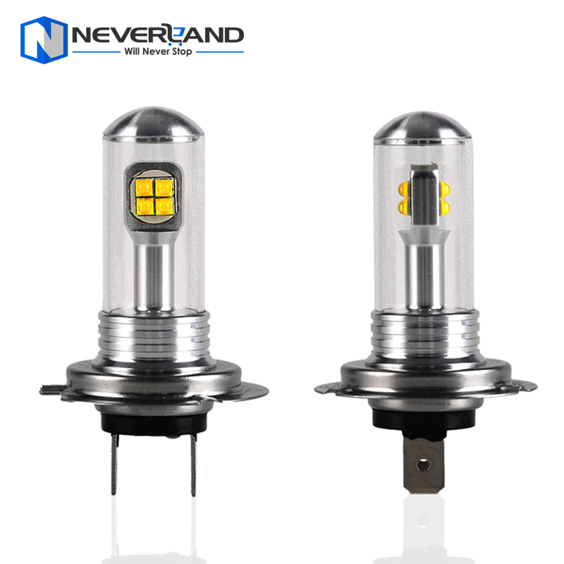 High Power H7 80W 1500LM with CREE LED Chips Bulb 6000K White Car Fog Lamps DRL LED Lights Headlight DC 12/24V<br><br>Aliexpress